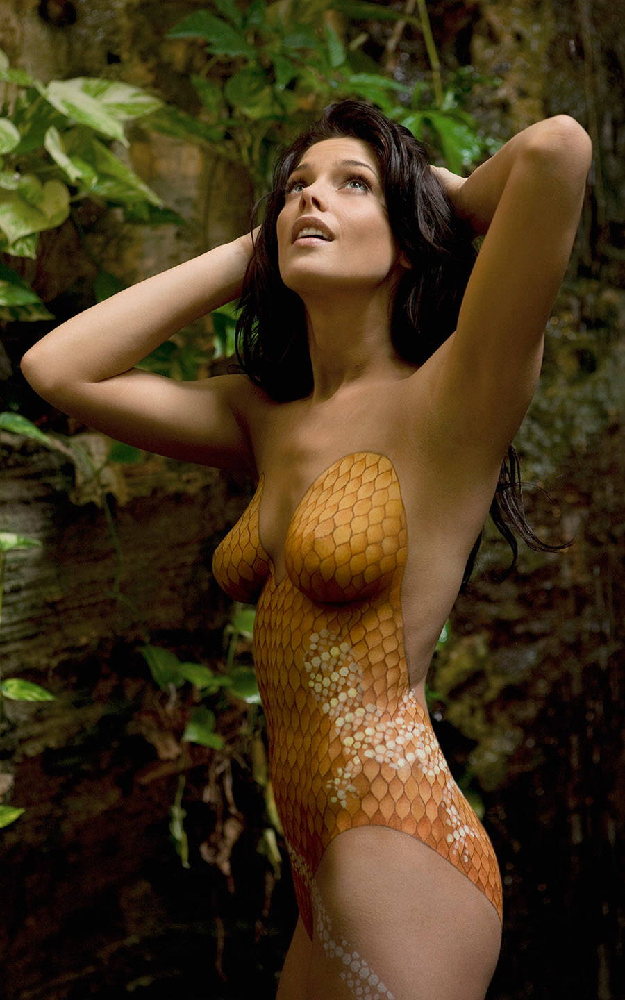 Remarkable, very Body paint nude girls